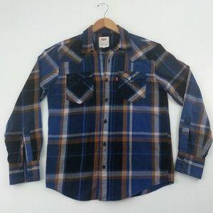 Levi's | Red Tab Blue Plaid Lumberjack Flannel